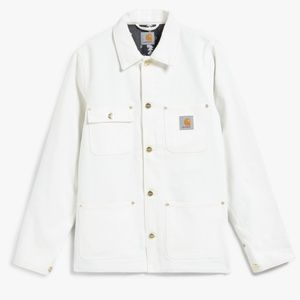 Carhartt Michigan chore coat snow white